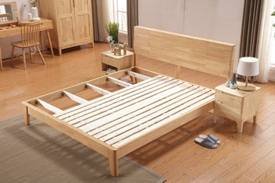 Scandinavian Wood Bed Frame Rs 08 Amore Home Japanese Decor